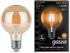 Лампа Gauss LED Filament G95 E27 6W Amber 550lm 2400K 1/20