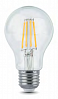 Лампа Gauss LED Filament A60 E27 6W 630lm 4100К 1/10/40