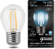 Лампа Gauss LED Filament Шар E27 7W 580lm 4100K 1/10/50