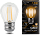 Лампа Gauss LED Filament Шар E27 11W 720lm 2700K 1/10/50