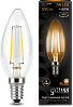 Лампа Gauss LED Filament Candle E14 7W 2700К 1/10/50