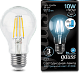Лампа Gauss LED Filament A60 E27 10W 4100К step dimmable 1/10/40