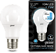 Лампа Gauss LED A60 10W E27 4100K step dimmable 1/10/50