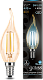Лампа Gauss LED Filament Candle tailed E14 5W 4100K Golden 1/10/50