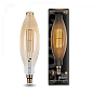Лампа Gauss LED Vintage Filament BT120 8W E27 120*420mm Amber 780lm 2400K 1/10