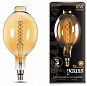Лампа Gauss LED Vintage Filament Flexible  BT180 8W E27 180*360mm Amber 620lm 2400K 1/6