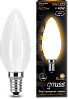 Лампа Gauss LED Filament Candle OPAL E14 5W 2700К 1/10/50
